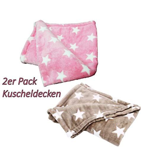 2er Pack Baby Kuscheldecken Set