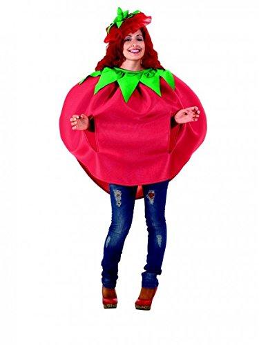 Premium Tomaten-Kostüm Unisex mit Kopfbedeckung | Hochwertiges Karnevals-Kostüm / Faschings-Kostüm / Ganzkörperkostüm | Perfekte Tomaten Verkleidung für Karneval, Fasching, Fastnacht