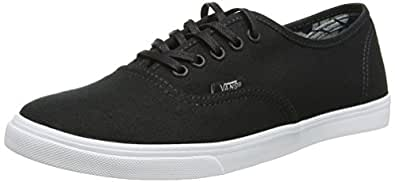 Vans Authentic Lo Pro Scarpe da Ginnastica Basse, Unisex Adulto, Nero (indigo Tropical/black/true White), 34.5  EU