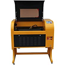 Ten-high Upgraded Version Linear Guide CO2 50W 110/220V Laser Engraving Cutting Machine with USB port,Ready to Use!