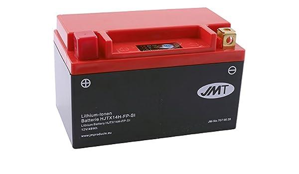 Batterie Lithium Jmt Hjtx14h Fp Für Triumph Bonneville T100 Se 865