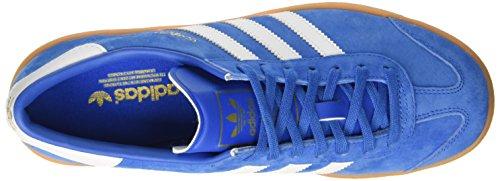 adidas Hamburg, Baskets Basses Mixte Adulte Bleu (Bluebird/Ftwr White/Gum)