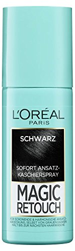L'Oréal Paris Magic Retouch Ansatz-Kaschierspray Schwarz, 3er Pack, 3 x 75 ml
