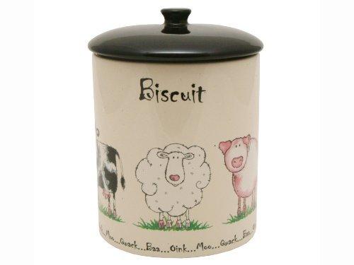 preis-und-kensington-home-farm-biscuit-jar-keramik-mehrfarbig