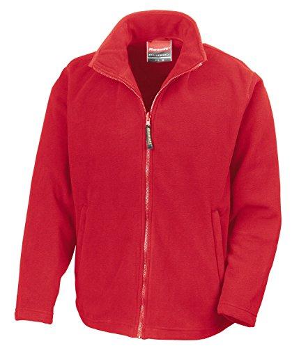 RT115 Horizon Micro Fleece Cardinal Red