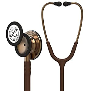 3M Littmann 5809 Classic III Stethoscope Copper Finish Chestpiece, 27 Inch, Chocolate Tube