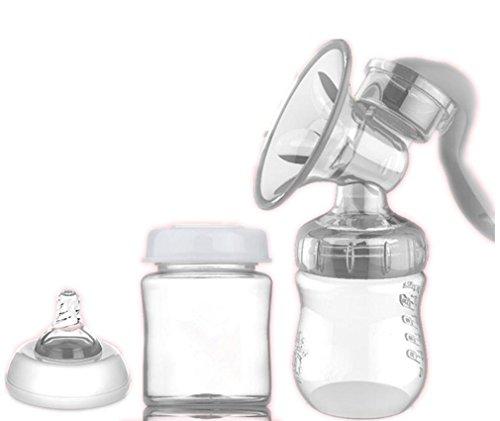 NWYJR Aspiration de pompe commode confort prolactine Grande poitrine silicagel Massage tire-lait manuel