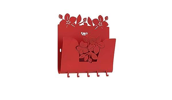 ARTI E MESTIERI 0CH3312C75 Portachiavi e Portalettere Posta Floreale Fior di Loto Rosso Made in Italy