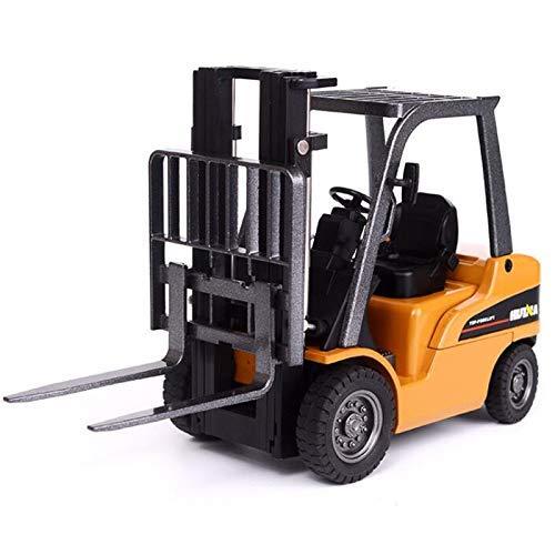 Happyroom Gabelstapler Maßstab 1/50 Diecast knickgelenkter Muldenkipper Engineering Fahrzeugbau Legierung Modelle Spielzeug für Kinder (1717)