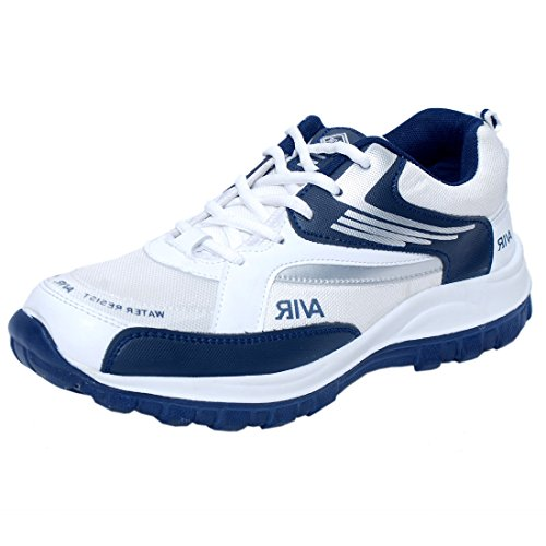Corpus Men's Density Navy Blue Synthetic Leather Running Shoes-8  available at amazon for Rs.498