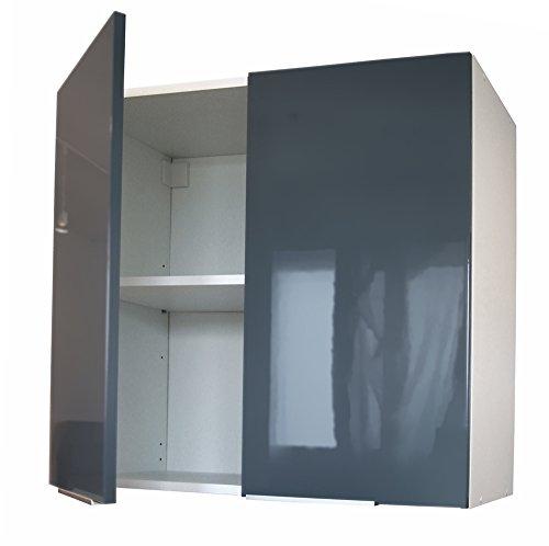 Berlenus CP8HG - Mobile da cucina alto, 2 sportelli, 80 cm, colore ...