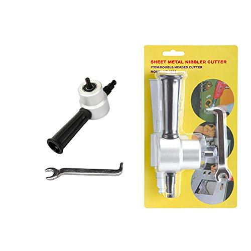 harpow Doppel Kopf Ausstecher Tabelle Metall Knabber-Cutter Bohrmaschine Befestigung