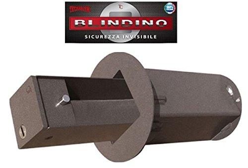 CASSAFORTE BLINDINO CASSETTA SICUREZZA INVISIBILE CORAZZATA - VARIE MISURE DISPONIBILI, Diametro foro parete 110 mm