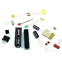 Just-Honest - Arduino Standalone KIT - ATMEGA328P-PU - ARDUINO UNO Bootloader con estabilizador de tensión 5V, MCU#A18
