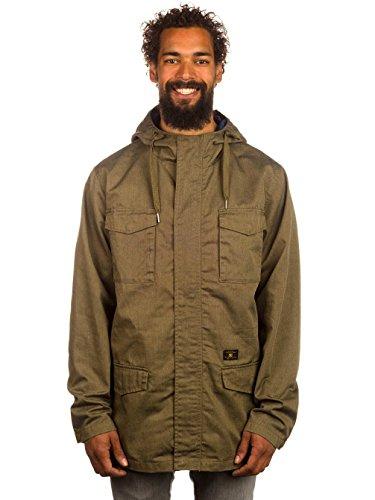 DC Clothing Mastadon 2 - Blouson - À Capuche - Manches Longues - Homme Vert - Military Olive