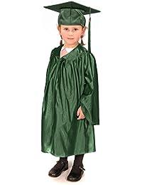 Children's Nursery Graduation Gown and Cap - Shiny