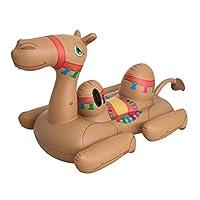 "Bestway  7'3"" x 52""/2.21m x 1.32m Camel Pool Float"