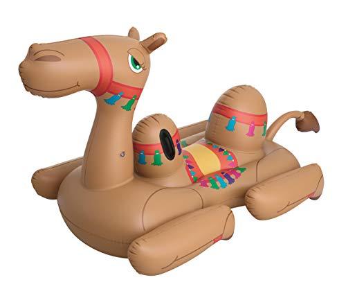 Bestway Kamel 220 x 113 x 117 cm, aufblasbares Schwimmtier mit extra viel Platz - Kamel Griff
