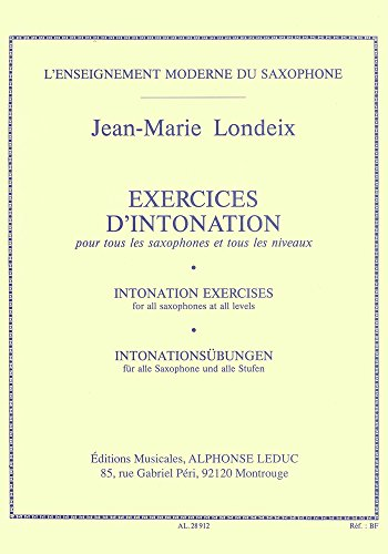 Jean-Marie Londeix: Exercices d'Into...