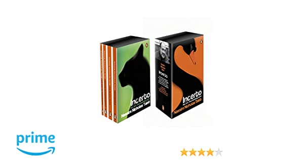 Buy Incerto Box Set: Antifragile, The Black Swan, Fooled by ...