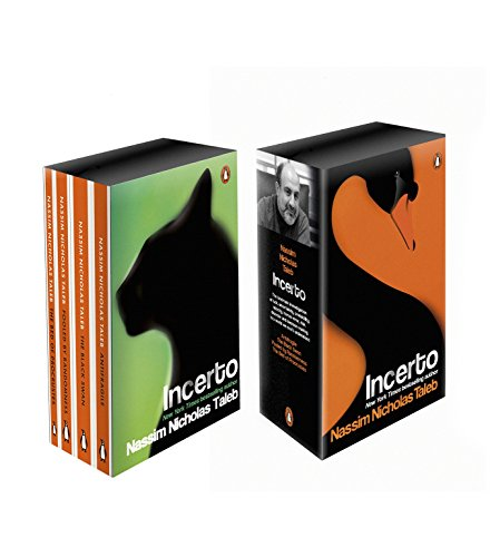 Incerto Box Set: Antifragile, The Black Swan, Fooled by Randomness, The Bed of Procrustes Image