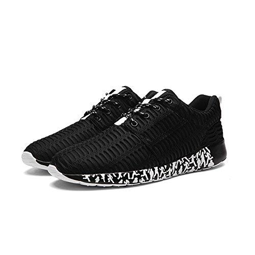 Oxsoy, Black Black Chaussures De Course Pour Homme