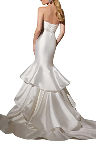 Gorgeous Bride - Robe - Femme blanc ivoire