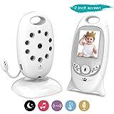 COLORWAY Babyphone Caméra Sans Fil - Bébé Moniteur Sans Wifi Ecran LCD Écoute Bébé, Vision Nocturne Audio Bidirectionnel