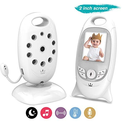 COLORWAY Babyphone Baby monitor Videocamera Wireless BabyWire - Baby Monitor Baby Watch Visione notturna