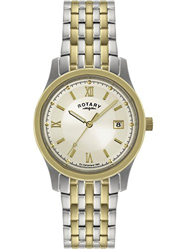 Rotary Mens Two-Tone Steel Bracelet GBI0793/09