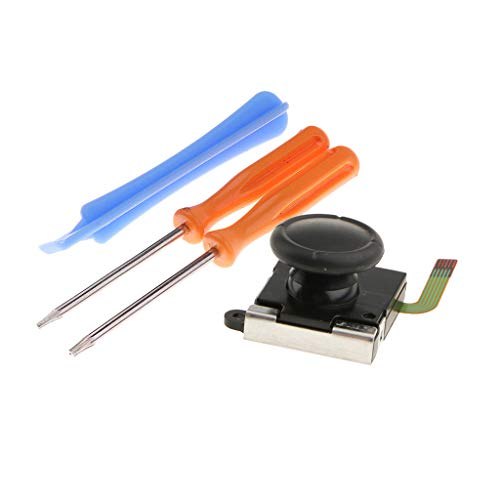 gazechimp Ersatz Analog Taste Thumbstick Stick Joystick mit Schraubendreher und Open Werkzeug für Nintendo Switch Controller Joy-Con -