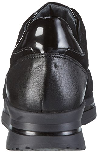 HIP Damen D1011 Sneakers Schwarz (10CO/Ac)