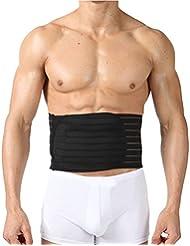 Zhhlinyuan Bon tissu Women & Men Thin Waist Trimmer Belt Belly Slim Shapewear Fat Remover