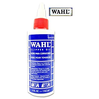 Wahl Clipper Oil 4 Floz Bottle Of Oil Especially For Wahl Clipper Products. Just Use A Few Drops