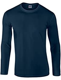 GILDAN Ultra Cotton L/Sleeve Tee, T-Shirt Homme