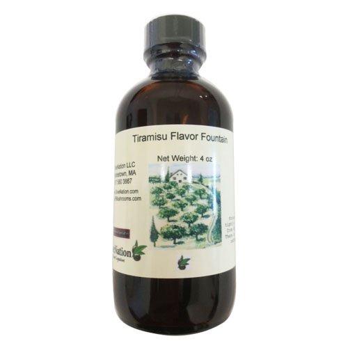 OliveNation Tiramisu Geschmacksquelle 8 Unzen - 8 Unzen Sirup