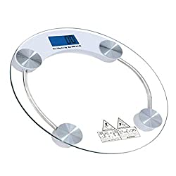 Velkro Glass Electronic Digital Personal Bathroom Health Body Weight Weighing Scale