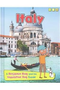 Portada del libro Italy: A Benjamin Blog and His Inquisitive Dog Guide (Country Guides, with Benjamin Blog and His Inquisitive Dog) by Anita Ganeri (2015-08-06)