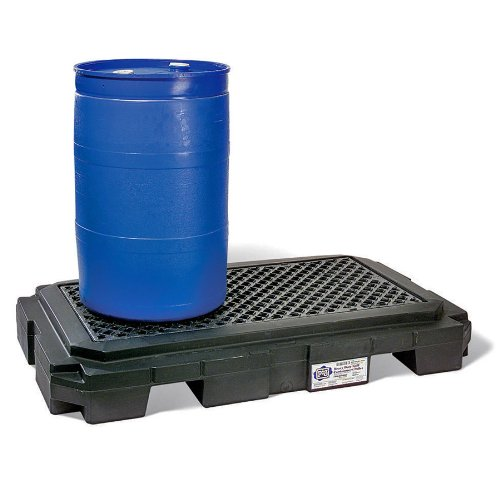 new-pig-pak604-bk-wod-pig-heavy-duty-poly-spill-containment-pallet-2041-kg-load-capacity-udl-168-cm-