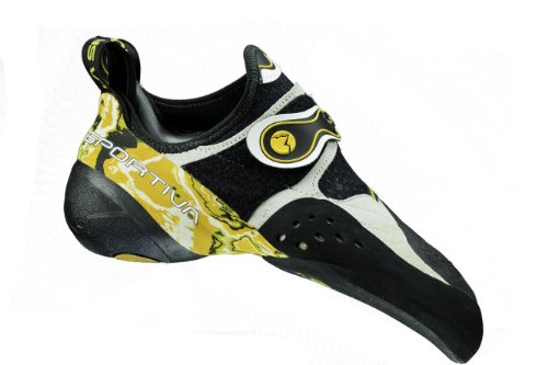 La Sportiva Solution Scarpa arrampicata wht/yellow