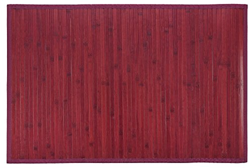 Bertha Hogar- Kanda, color burdeos (120 x 180 cm)