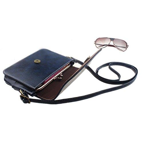 Retro Messenger, Le Donne Imitazione Pu Borsa In Pelle Spalla Sacchetto Vintage Borsetta Retro Messenger by Kangrunmy a