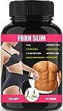FBRN F-Burn Tabletten | Diät | Burner | für Männer und Frauen | Abnehmen - Cla, Curcuma, L-carnitin, Spirulina, Glucomannan, Garcinia Cambogia, Grüner Tee