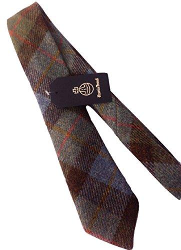 Die Krawatte des Mannes in der Harris Tweed Jagd Macleod