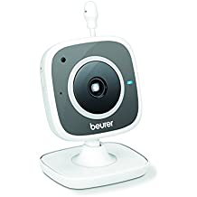 Beurer BY 88 - Vigila bebés, compatible con App Carecam, color blanco ...