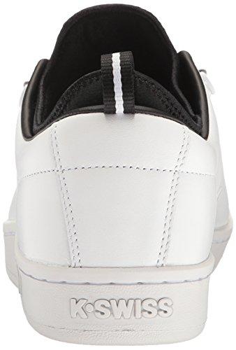 K-Swiss Herren Classic 88 Sport Sneakers Schwarz(WHITE/BLACK 102)
