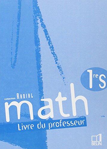 Math 1e S : Livre du professeur