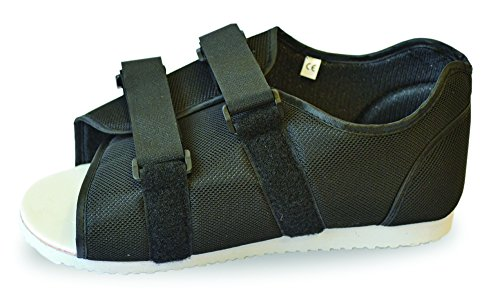 Medical postoperatorio, color negro ideal para hombre y mujer apto para izquierda o pie derecho