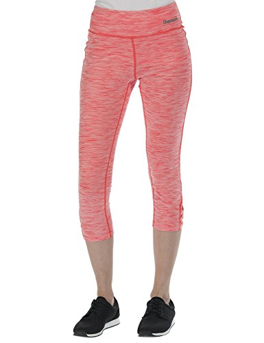 Bench Damen Leggings Indulgent B, Fiery Coral Marl, L, BLNF0062B