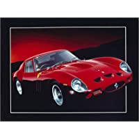 POSTERLOUNGE Póster 80 x 60 cm: Ferrari GTO II de Gavin Macloud/MGL Licensing - Impresión Artística de Alta Calidad, Nuevo Póster Artístico